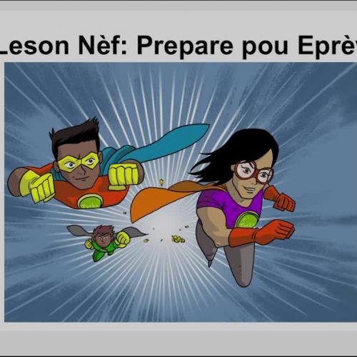 Super Student Lesson 9 Haitian Creole Summary