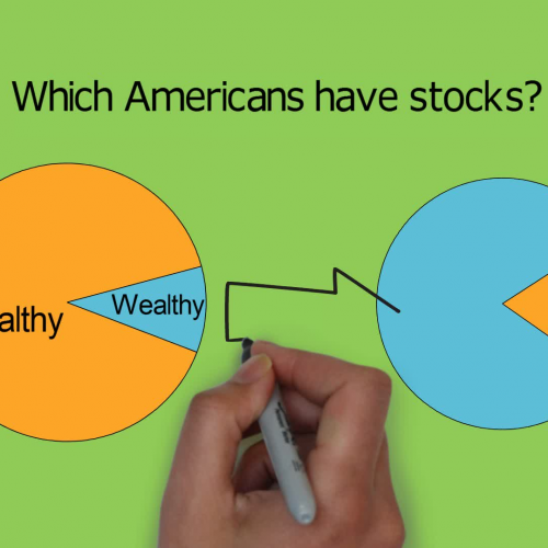 Who owns stock in America?