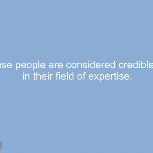 What is Credibility?