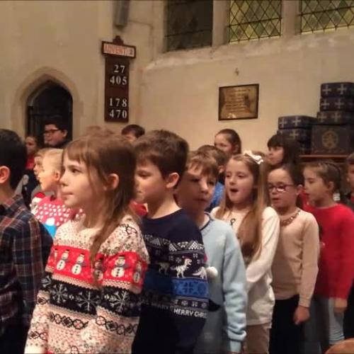Dickensian Christmas Carol Service 2017 - Acle St Edmund Primary School