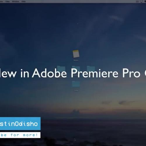 whats new in Adobe Premiere Pro CC 2018!