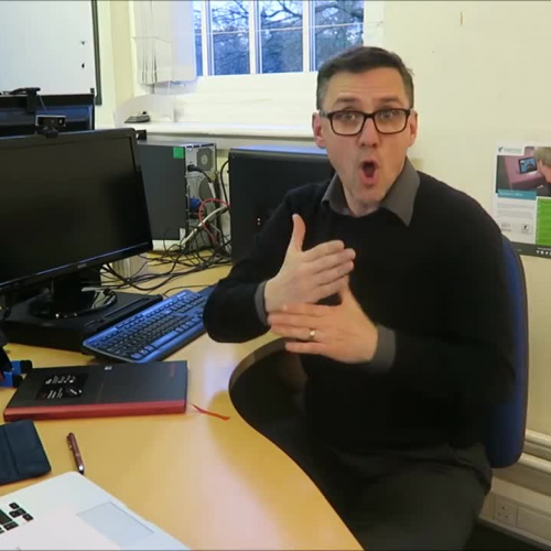 Deaf people can do anything - James Townsend Head of Sales