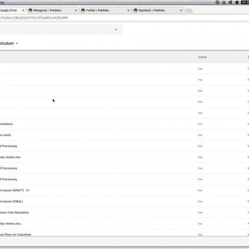 Google Slides - Making My Favorite Things