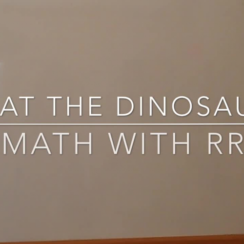 """Beat the Dinosaur"" -- An Easier Way to Add and Subtract!"