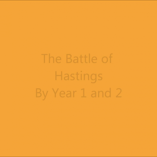 Battle of Hastings 1066 - Animation Year 1&2 with text story