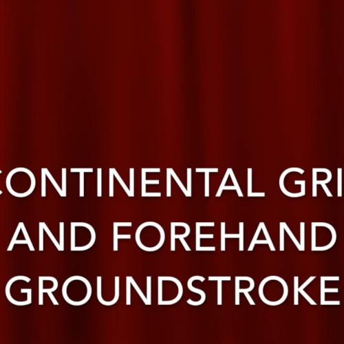 Centerville: Pickleball Grip and Forehand Groundstroke