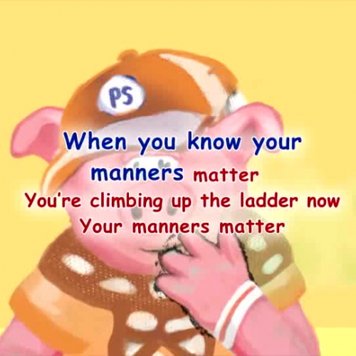 Manners - Sing Along Song