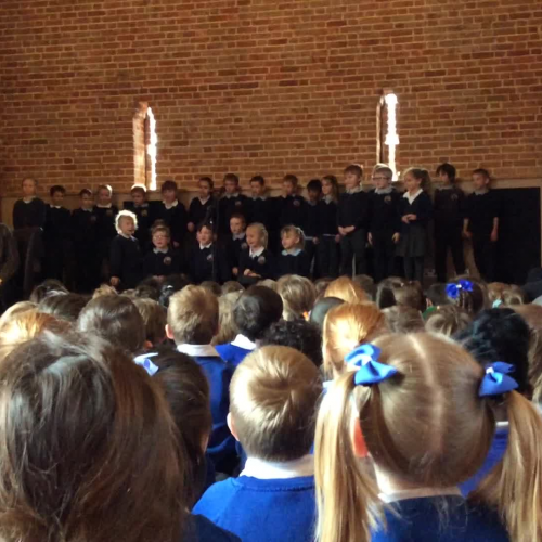 Cluster Poetry Festival - Year 2 group performance