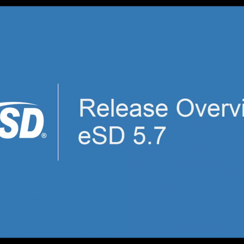 eSD 5.7 Release Overview