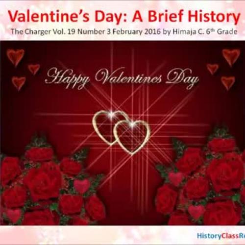 Valentine's Day History!