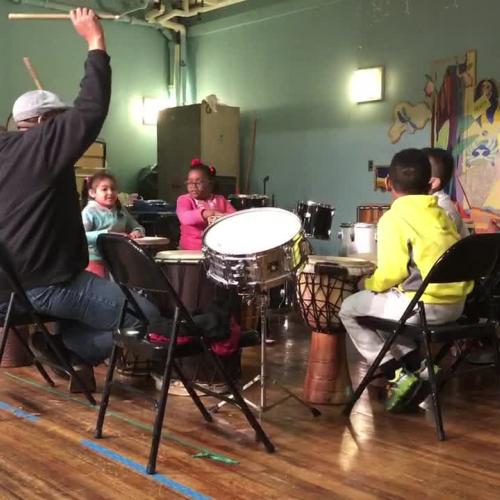 Harambee Drum Practice