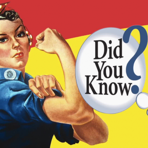Women's History Month Fact #!