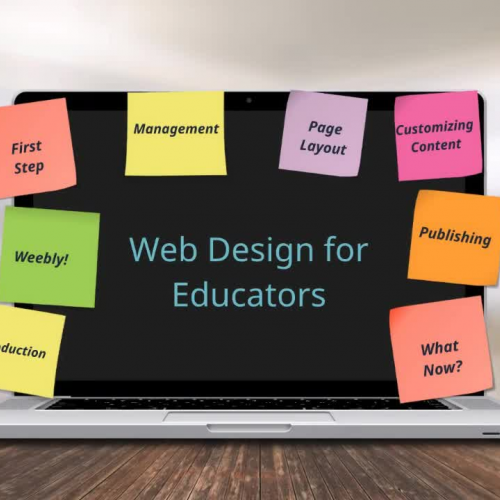 Web Design for Educators (Weebly)