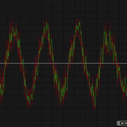 Low-pass filter - Test preview