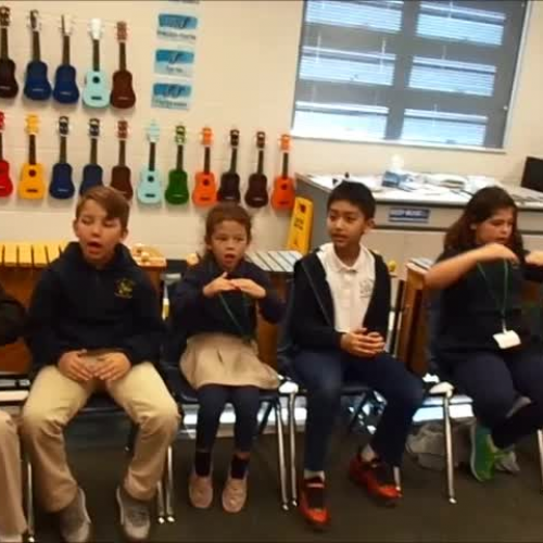 """17-18 Ms. Bates' 2nd grade class """"Carrot Seed"""" by Dupont/Hiller"""