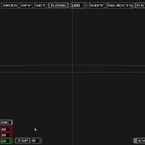 Interception using Modified Pure Pursuit - Test preview
