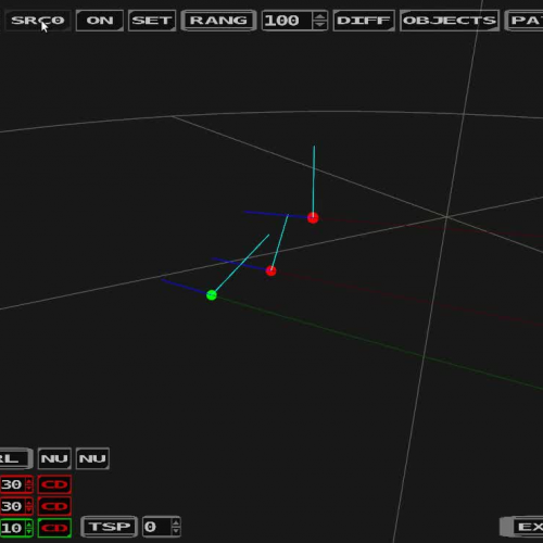 Formation flight using Cosine rule - Test preview
