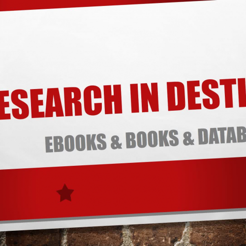 Research in Destiny