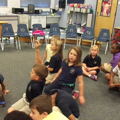 """17-18 Ms. Cook's 1st grade class """"Jack and Jill"""" by Dupont/Hiller"""