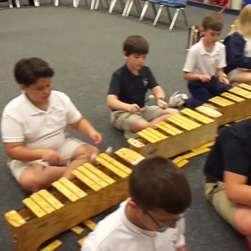 "17-18 Ms. Hanks' 5th grade class ""Way Down South"" by Carol King"
