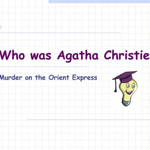 Who was Agatha Christie?