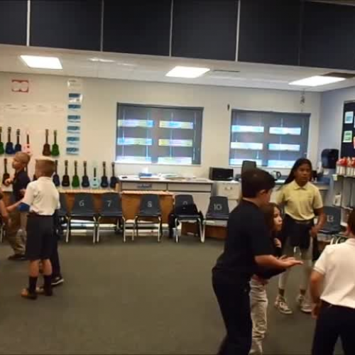 """17-18 Ms. Montigny's 3rd grade class """"That's the Way"""" by Kriske/DeLelles"""