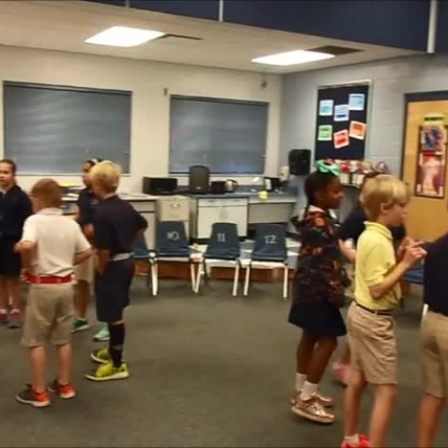 """17-18 Ms. Farinas' 3rd grade class """"That's the Way"""" by Kriske/DeLelles"""