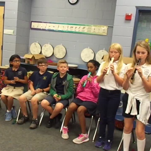 "17-18 Ms. Etts' 5th grade class ""Way Down South"" by Carol King"