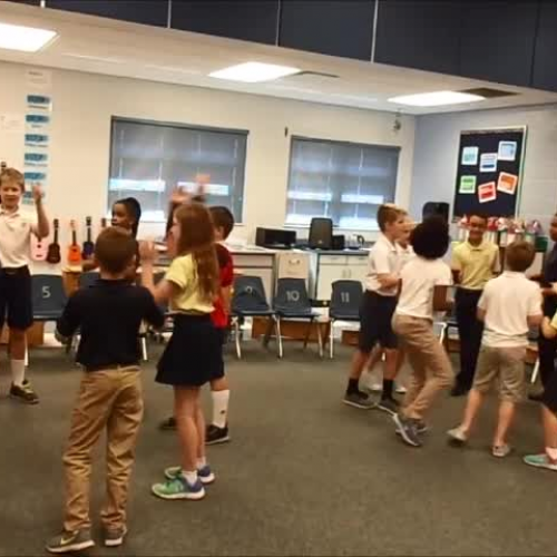 """17-18 Mr. Bishop's 3rd grade class """"That's the way to the zoo"""" by Kriske/DeLelles"""