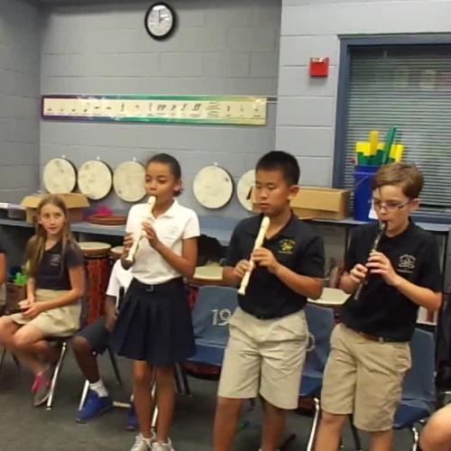 "17-18 Ms. Danley's 5th grade class ""Way Down South"" by Carol King"
