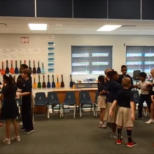 """17-18 Ms. Carter's 3rd grade class """"That's the Way to the Zoo""""  by Kriske/DeLelles"""