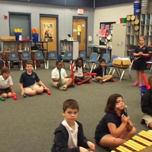 """17-18 Ms. Bates' 2nd grade class """"Five Little Monkeys"""" by Kriske/DeleLles"""