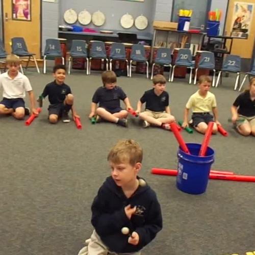 """17-18 Ms. Winne's 2nd grade class """"Five Little Monkeys"""" by Kriske/DeLelles"""