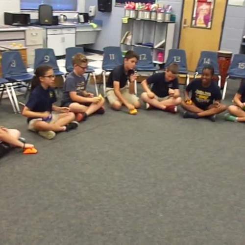 """17-18 Ms. Dunn's 5th grade class """"Take Five"""" by Dave Brubeck"""