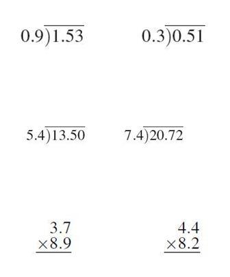 th grade math and division worksheets th grade division worksheets