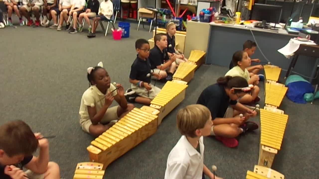 "17-18 Mr. Brook's 4th grade class ""Bubble Gum"" by Kriske/DeLelles"