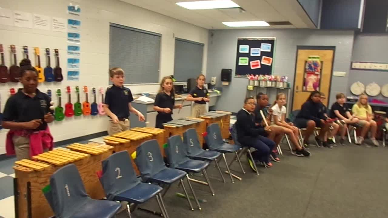 """17-18 Ms. Dickey's 4th grade class """"Bubble Gum"""" by Kriske/DeLelles"""