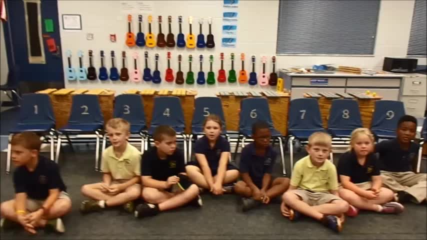 "17-18 Ms. Cook's 1st grade class ""Drip Drop"" by Krikse/DeLelles"