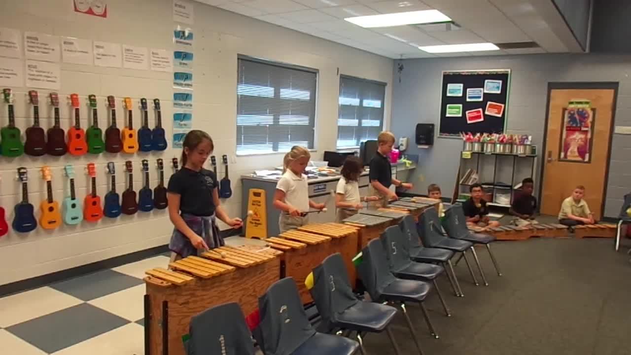 "17-18 Ms. Montigny's 3rd grade class ""Tideo"""