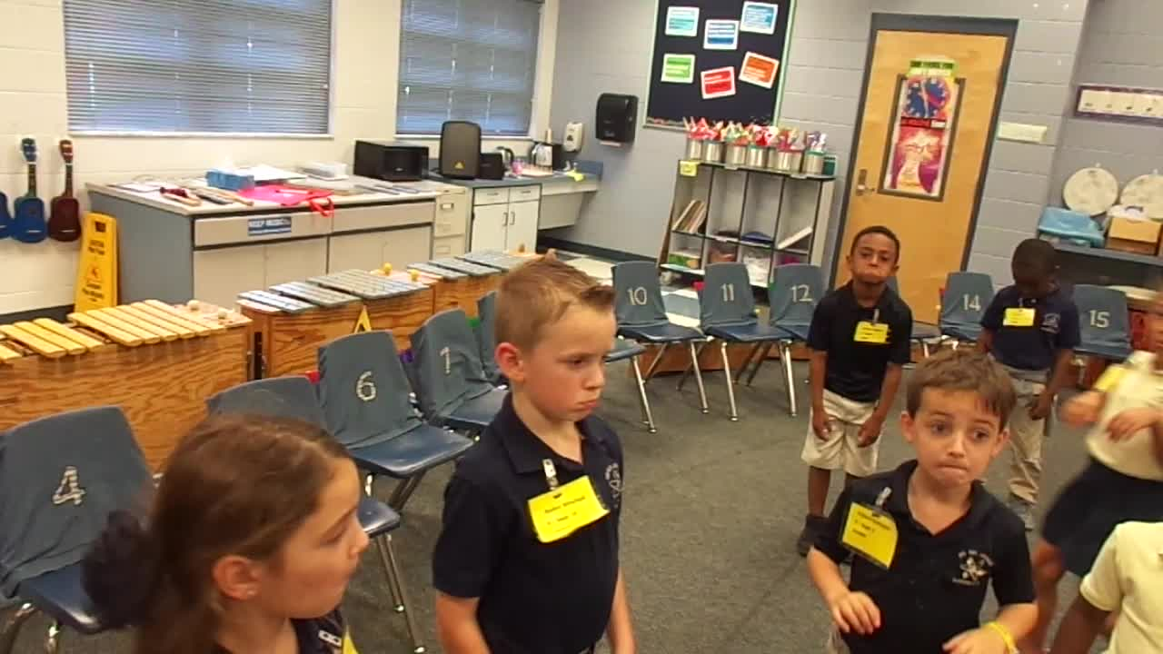 "17-18 Ms. Sapp's Kindergarten Students ""Kangaroo"" from Carnival of the Animals"