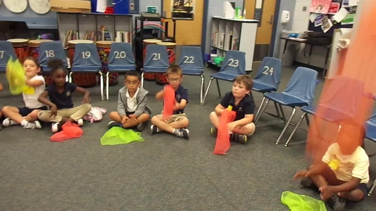 """17-18 Ms. Sapp's Kindergarten Students """"Dandelion"""""""