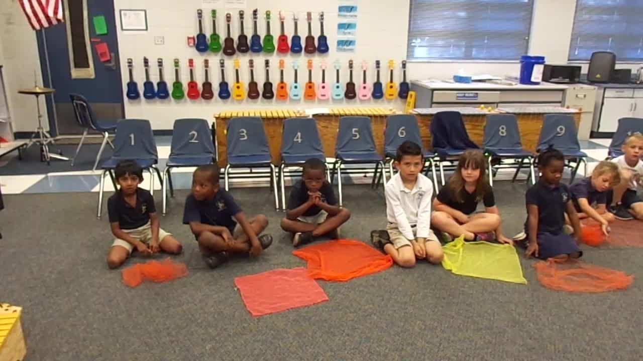 """17-18 Ms. Burnham's kindergarten class """"Dandelion"""""""