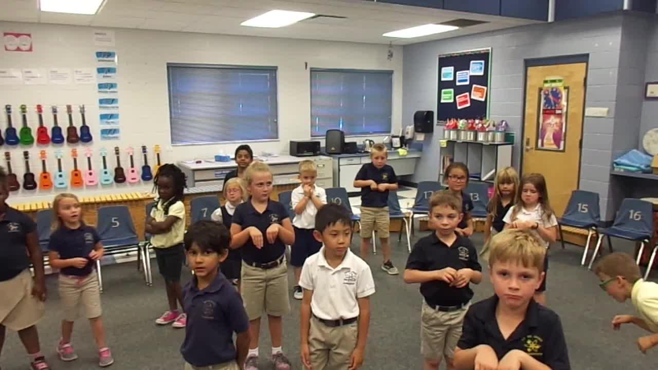 "17-18 Ms. Simon's Kindergarten Class ""Kangaroo"""