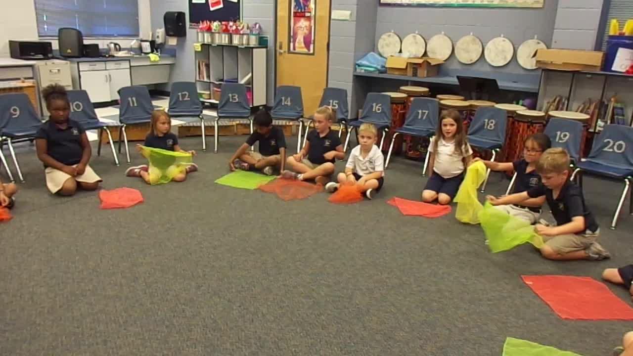 """17-18 Ms. Simon's Kindergarten Class """"Dandelion"""""""
