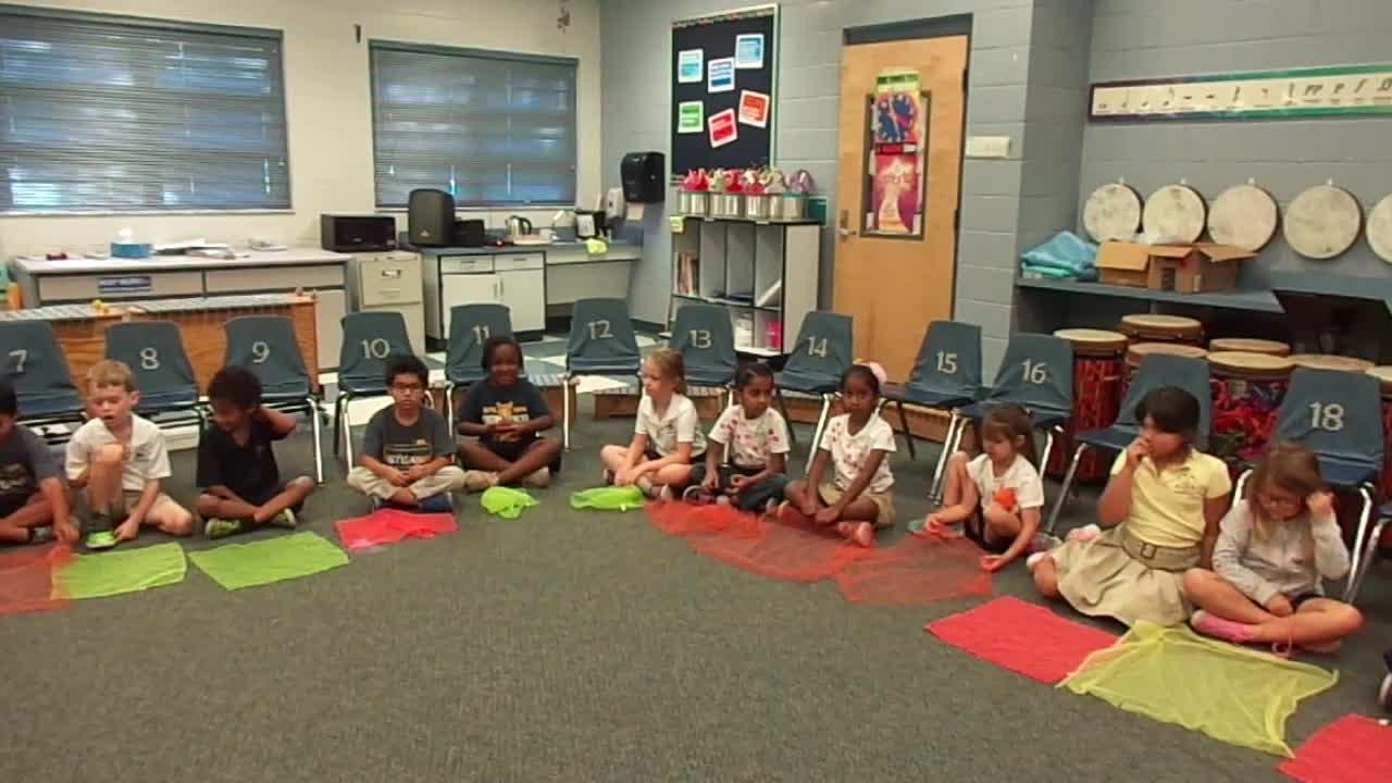 "17-18 Ms. Draizin's Kindergarten Class ""Dandelion"""