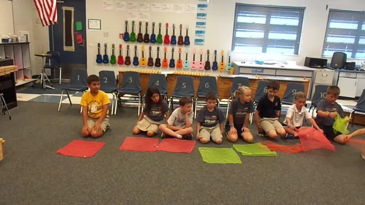 "17-18 Ms. Milton's 1st grade class ""Dandelion"""