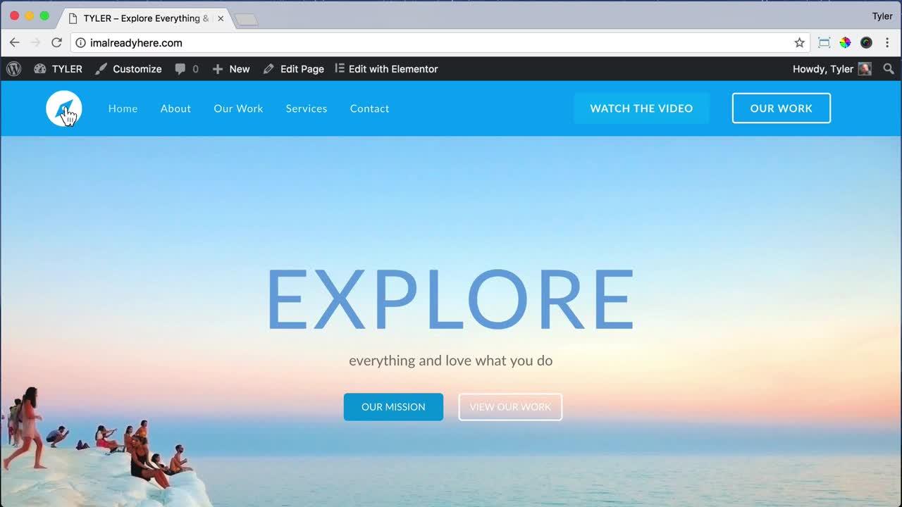 Create a Footer Using Elementor OceanWP 28
