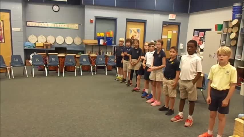 """17-18 Ms. Farinas' 3rd grade class """"Spring is Finally Here"""" by Kriske/DeLelles"""