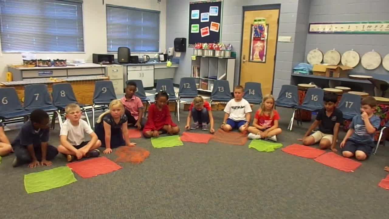 "17-18 Ms. Cook's 1st grade class ""Dandelion"""