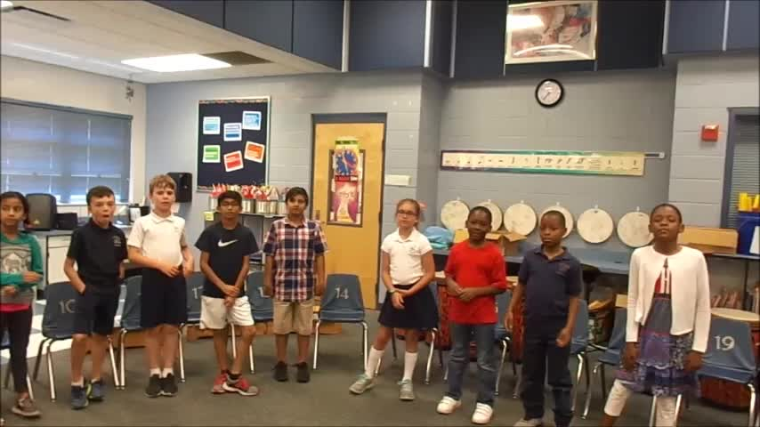 """17-18 Ms. Townsend's 3rd grade class """"Spring is Finally Here"""" by Kriske/DeLelles"""